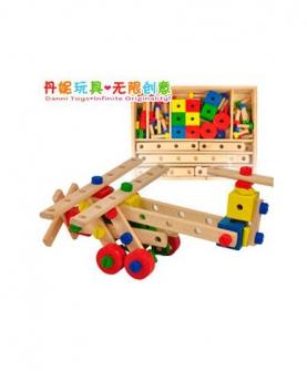 超级螺母组合益智玩具