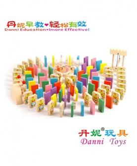 骨牌多米诺益智玩具