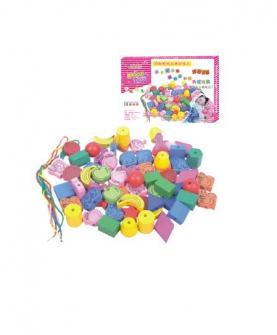 动物形状水果串串乐益智玩具