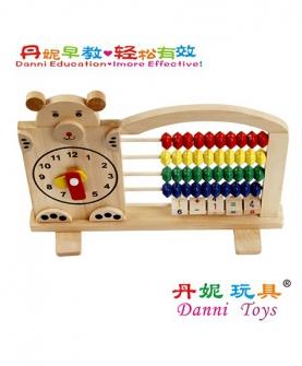 小熊计算架学习玩具