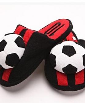 足球造型儿童棉拖鞋宝宝拖鞋