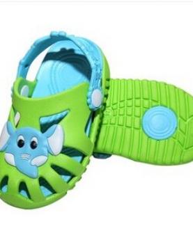 小象童拖鞋夏款凉拖儿童沙滩鞋宝宝包头防滑洞洞鞋