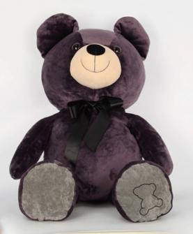影子熊毛绒玩具