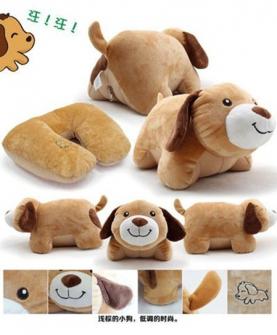 动物变形枕毛绒玩具