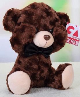 羞羞熊毛绒玩具