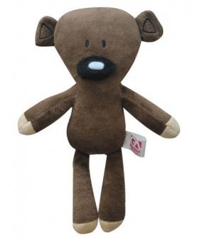 憨豆熊毛绒玩具