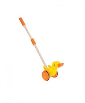 推推鸭推拉玩具