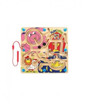 快乐农场迷宫益智玩具