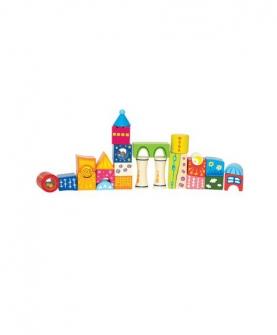 奇纪城堡积木益智玩具
