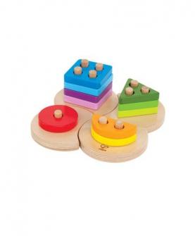 几何分类积木拼图益智玩具