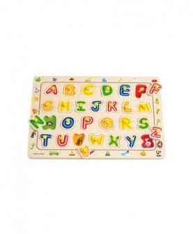 字母拼图益智玩具