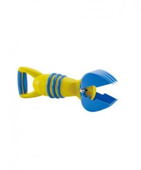 黄色抓沙斗沙滩戏水玩具