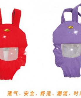 透气多功能婴儿双肩抱袋减压型背带