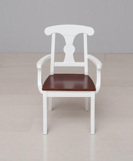 新干线实木青少年餐椅