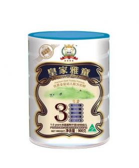 优质金装幼儿配方奶粉3段