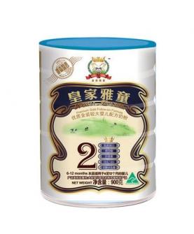 优质金装较大婴儿配方奶粉2段