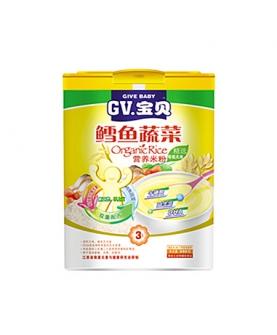 鳕鱼蔬菜营养米粉