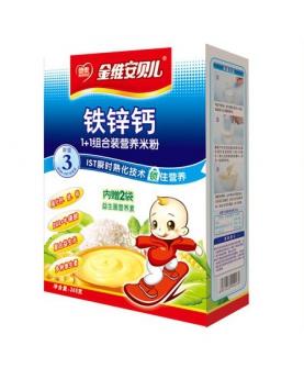 钙铁锌营养米粉