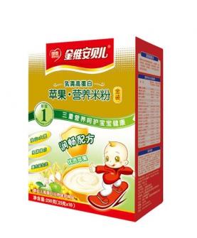 苹果营养米粉