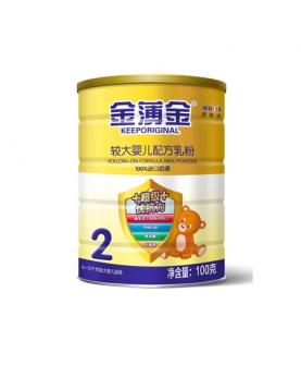 较大婴儿配方奶粉2段