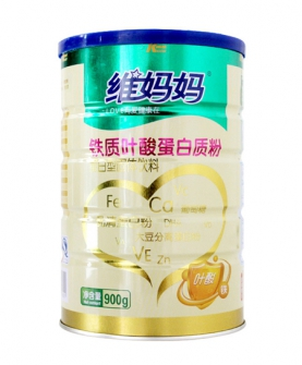 铁质叶酸蛋白质粉