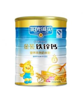 金装钙铁锌营养奶米粉