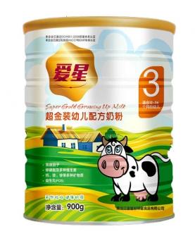 超金装幼儿配方奶粉3段