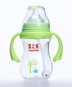 宽口径葫芦形PP奶瓶