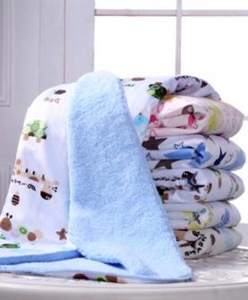 秋冬款婴儿毛毯