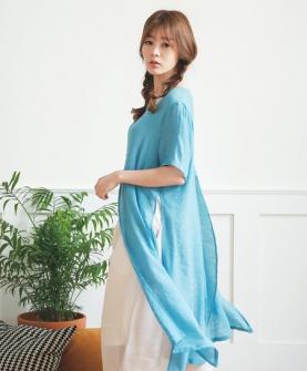 孕婦夏裝雪紡連衣裙