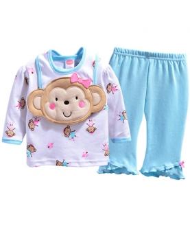 男女宝宝长袖卫衣三件套