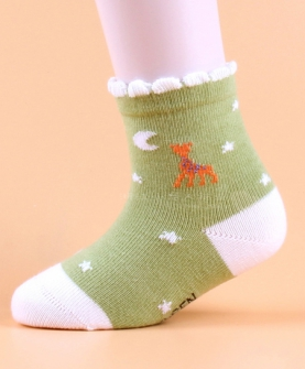 小鹿款童袜婴儿袜