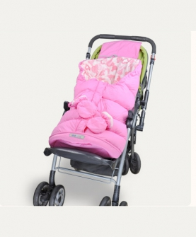 婴儿童宝宝水貂绒推车睡袋