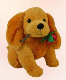 狗狗毛绒玩具