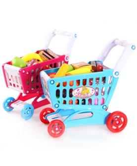 儿童仿真购物车