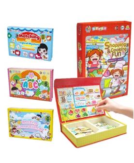 益智玩具拼图冰箱贴纸