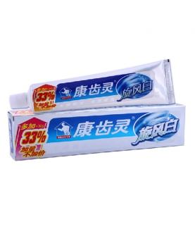 旋风白牙膏