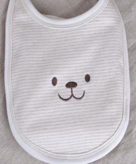 七彩棉口水巾