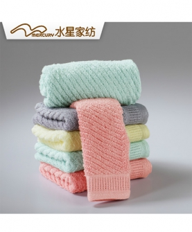 波尔卡埃及棉方巾