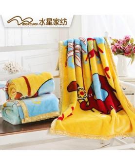 双层加厚儿童毛毯