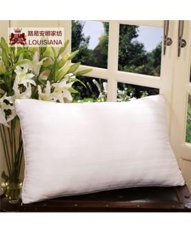 学生珍珠棉缎纹护颈枕头