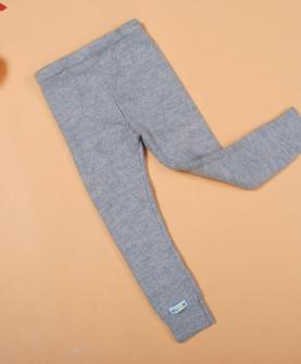 儿童加厚保暖毛线裤