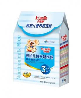 奶米粉3段盒装