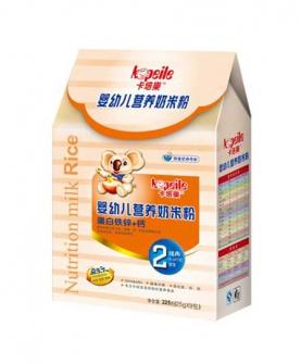 奶米粉2段盒装