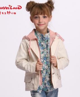 儿童秋装连帽外套