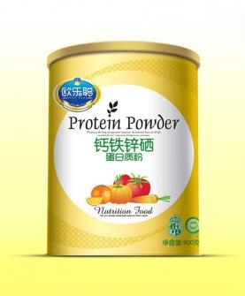 蛋白质粉纸听-钙铁锌硒
