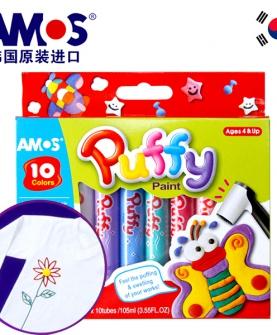 儿童创意diy立体彩绘发泡笔