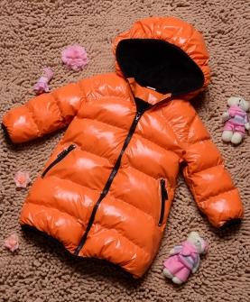 女童长款加厚棉衣外套