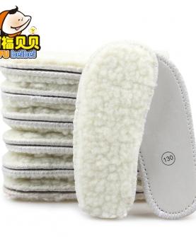 冬季加毛鞋垫