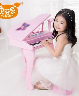 儿童电子琴带麦克风